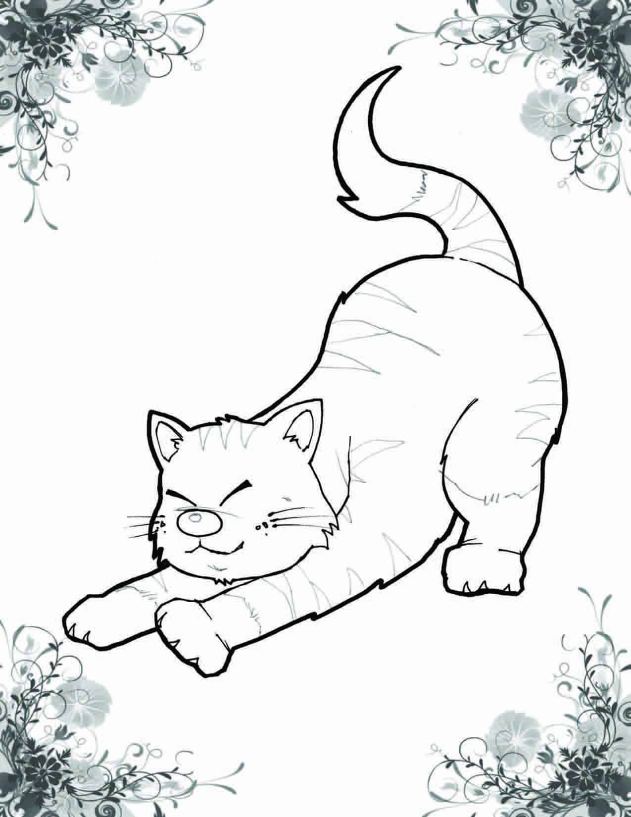 A Cat Named Haiku Coloring Book 3