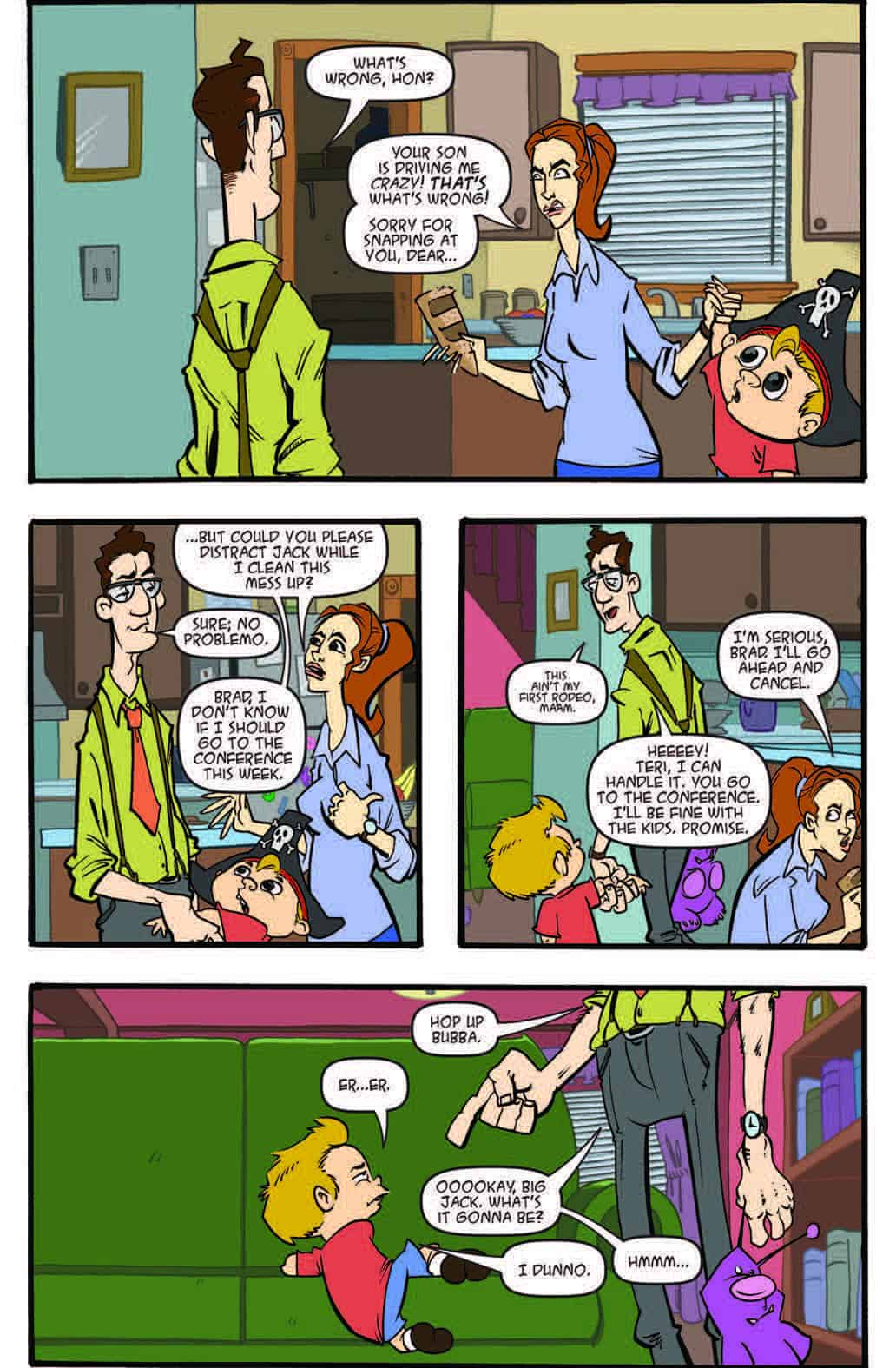 Jack & The Zombie Box 5