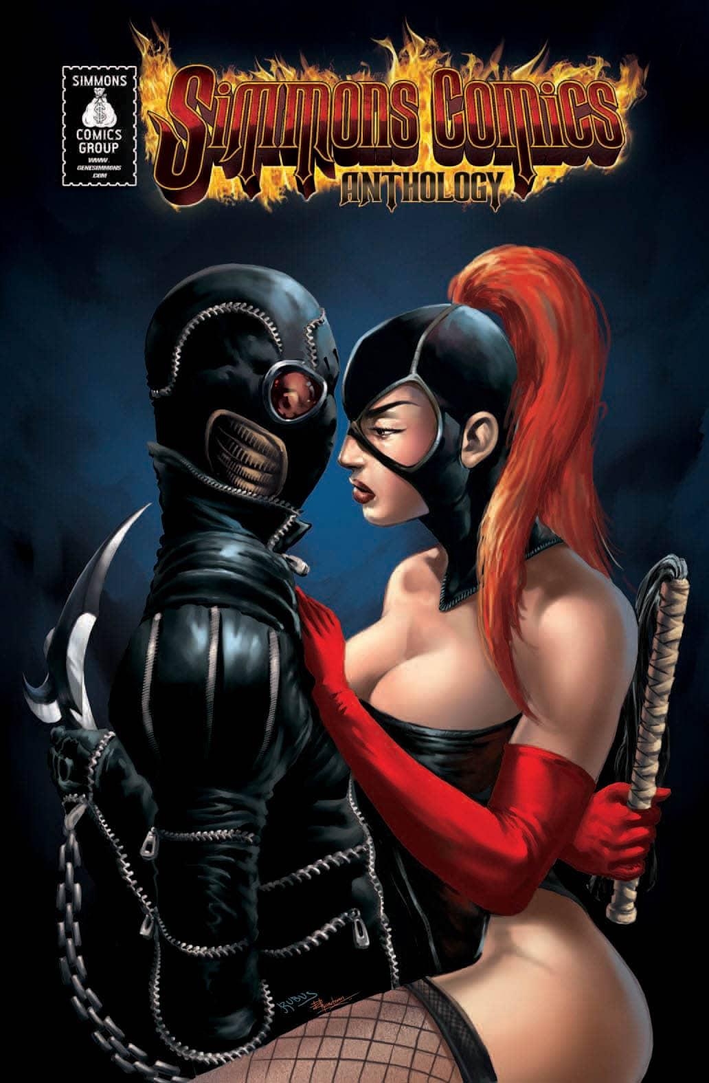 Simmons-Comics-Anthology-Vol-2-Cover