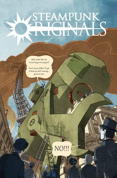 SteamPunk Originals Volume 1 1
