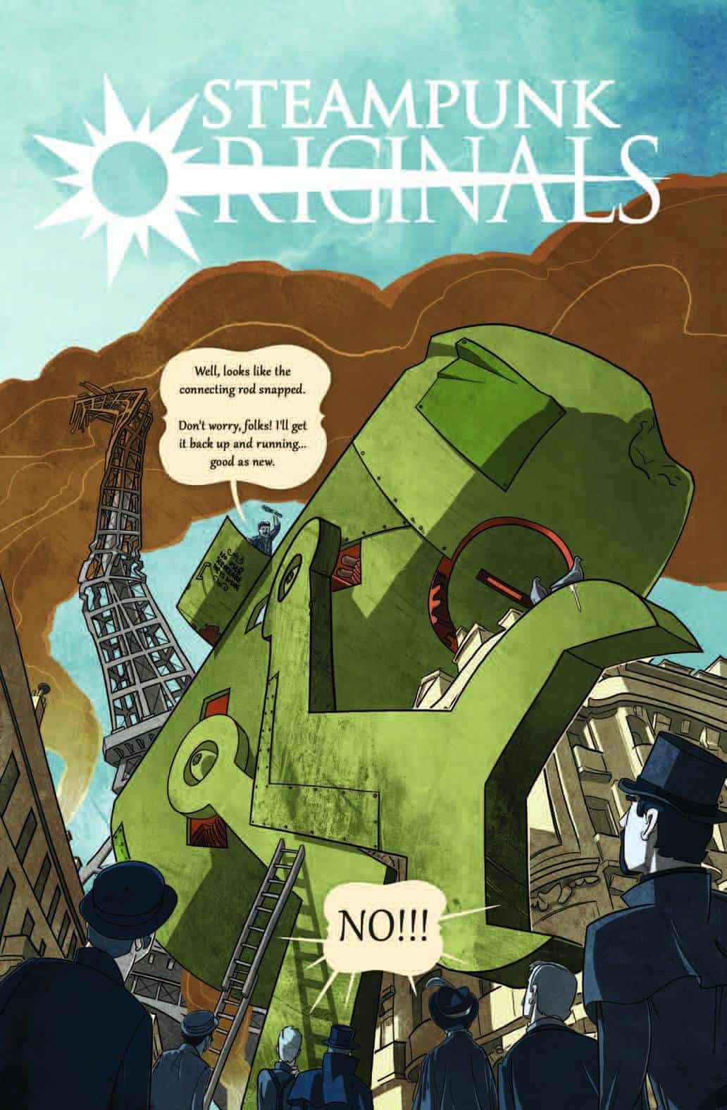SteamPunk-Originals-Volume-1-Cover
